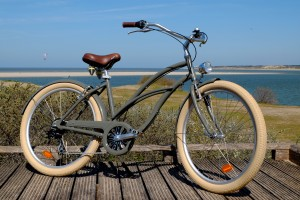 Beach cruiser kaki