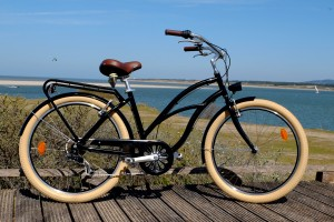 Beach cruiser noir